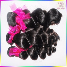 4pcs/lot High Quality 10A Malaysian Loose Wave Raw Virgin Hair Bundles Best Mink Hair Extension Alibaba verified Supplier