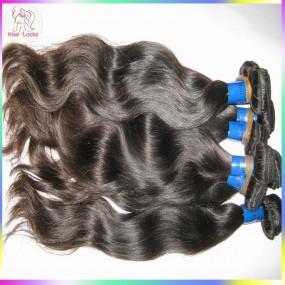 Genuine Beauty Full Sew In Weave KissLocks Wet and Wavy 100% Human Hair 400g Virgin Malaysian Unprocessed Cuticles Weave