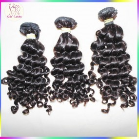 10A Sale 3pcs/lot Top higher quality deep wave curly Malaysian Virgin hair Extensions 3.5oz/bundle,fast free DHL delivery