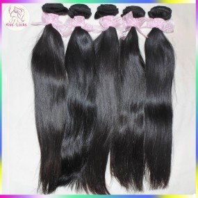 South American Exotic Weaves Grade 10A Super Silky Mongolian Human Hair Straight Virgin Hair 4pcs/lot For Wedding