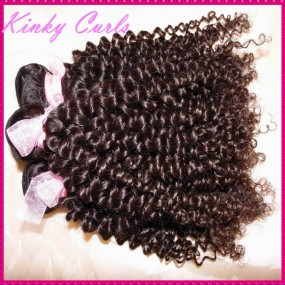 Always Love Beauty 10A Mongolian Kinky Curly Virgin hair 4pcs/lot Deal Tight curls bouncy wefts NEW Sale