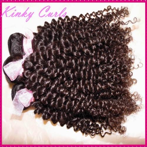Always Love Beauty 10A Mongolian Kinky Curly Virgin hair 4pcs/lot Deal Tight curls bouncy wefts NEW Sale