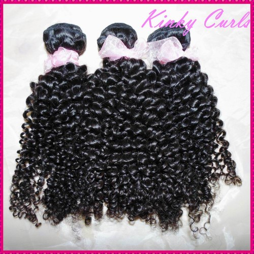 "KissLocks Beautiful Afro kinky curly Mongolian virgin hair 1 bundle/1 piece sample order 12""-30"" Love it !!"