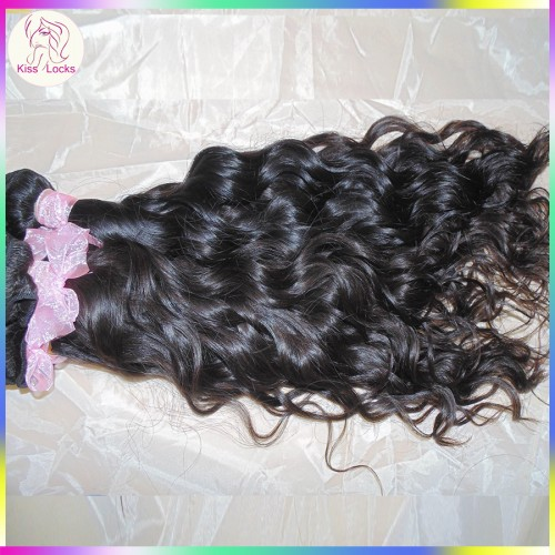 My Everyday Hair Gorgeous Natural Wave Virgin Mongolian 10A Water curly No Corn Chip Smell 4pcs/lot Sale Now