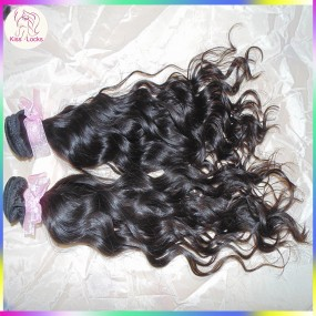 Crochet Wet and Wavy Style 2pcs/lot Ocean Water Wave Mongolian Virgin Raw Hair Weave Spring Curl Kiss Locks Raw hair Company