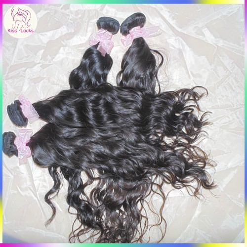 Wow African New Style Top Quality Water loose curls Mongolian Virgin Hair Weave 4 bundles Fabulous Natural Hair
