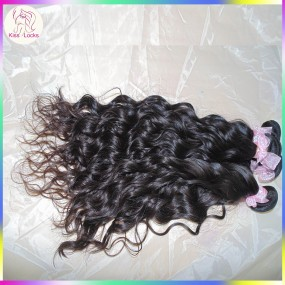 Crochet Natural Weave Wave 100% Mongolian Virgin Human Hair Oceanic Curl 3 bundles Unprocessed Raw Kiss Locks Extensions