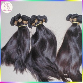Annabelle Famous Star Celebrity Rare New Raw KS Locks Virgin Persian Silky Straight Weave 3 bundles Beauty Supply Grade 10A