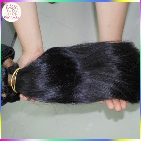 Full Cuticle Instact Real Natural Single Donor Raw Virgin Persian Straight Hair Weave 3pcs/lot Trustworthy Vendor