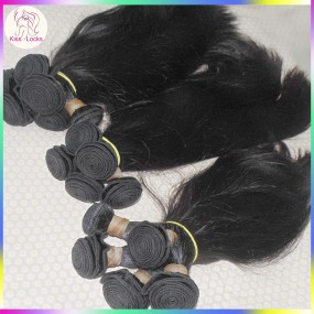 10a Grade virgin unprocessed human hair Persian Sleek Straight wave 4 bundles Celebrity Hair Market wefts