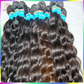 RAW KissLocks Virgin RAW Hair Hand Selected Bundle 100gram 10A unprocessed Peruvian Loose More Curly Beautiful Wefts