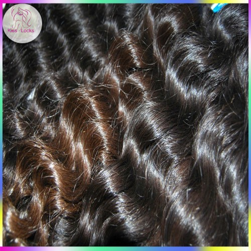 Hawaii Wave curls 2pcs/lot Peruvian Virgin Hair Loose Deep Wavy Cuticle Same Direction NEW WEAVE
