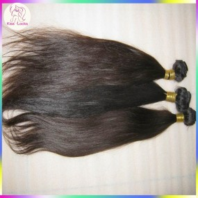 Machine Weft 4 bundles Silky Straight Hair Extensions American Style Raw Peruvian 10A Virgin Human Hair
