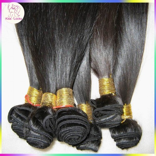 1 bundle deal Superior Quality Peruvian Straight Hair Human Raw Hair Weaving Natural Brownish Luster Free Shipping