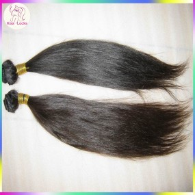 KissLocks hair products Unprocessed 10A Straight Peruvian virgin hair weaves 2pcs/lot high quality Affordable price