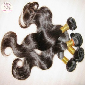 "Raw KissLocks Peruvian Unprocessed Virgin Human Hair 3pcs/lot 12""-30"" Body wave wefts Cuticles Aligned Natural Color Premium Quality"