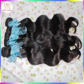 TOP 10A Remy Virgin Hair Silky Shinest Russian Human Weave Wefts Natural Body Wave 4 Bundles New Beauty