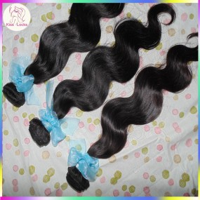 Guangzhou KissLocks RAW hair 10A Super Quality Russian Virgin Unboiled hair natural body wave 3 bundles Great Deal