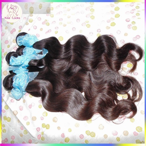 100% Human Virgin RAW russian hair wavy texture 3 bundles Deal Medium Brownish luster Durable Quality Brands