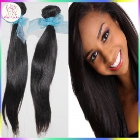 2pcs/lot Fresh bundles 10A Virgin Russian Straight RAW Hair Wefts 3.5oz/piece Sample Weave Speedy Delivery to USA,US and Canada