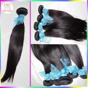 Unprocessed 10A Russian Virgin Hair Straight Pure Raw Texture 4pcs/lot Cuticle Collection I wear Glam