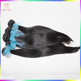 Lovely Raw Russian Virgin Straight hair weave grade 10A 300g/lot Good luster Unprocessed Lust up to 1 year!!