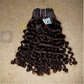 Tight curly Bohemian Afro Curly Smooth North American Weave 100% Raw unprocessed Virgin Human Hairs 4 bundles Promotion Deals