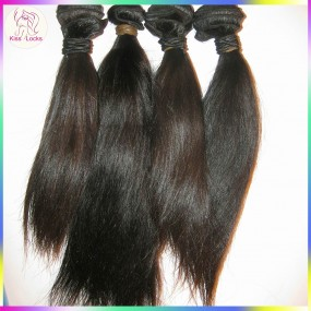 Young Donor Vietnamese Raw hair Supplier Straight Virgin Human hair wefts 4 bundles Lots