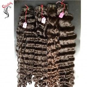 Loose deep curly natural deep waves Vietnamese Human hair 1piece/lot Fast shipping Fedex
