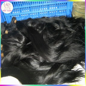 2 bundles Straight Hair Weave Colored Dark Brazilian Human Hair Double Stitched wefts Grade 7A