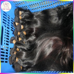 "Single bundle Jet Black Brazilian Straight Human Hair Soft Silky Texture Dyed Hair 10""-30"" Fast shipping Grade 7A"