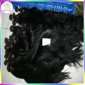 3 bundles Cheapest Brazilian Human Hair Coloured Jet Dakr Black Weave Extensions Grade 7A Soft&Sleek