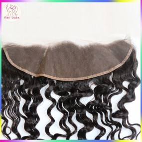 "RAW Peruvian Loose Deep Wavy Loose Wave Loose Curly ear to ear Lace frontal Closure 13x4 10""-20"" Avaiable"