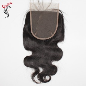 Super big size closures 6x6 7x7 large closure Raw hair unprocessed body wave texture 1 piece/lot high quality 10A