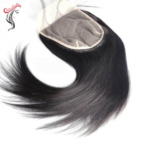 New Arrival 6*6 7*7 large top closure Straight Raw hair texture Premium quality unprocessed virgin human hair origins