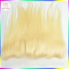 Kiss Locks Blonde #613 wavy hair Frontal Wtih Baby Hair Transparent color Lace 1 pack/lot Express shipping