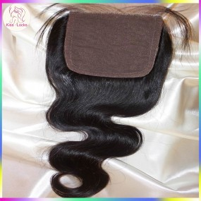 Best silk base Topclosure with baby hair 4x4 Virgin Filipino,Cambodian,Burmese,Laotian Hair Origins 1 piece Fast shipping