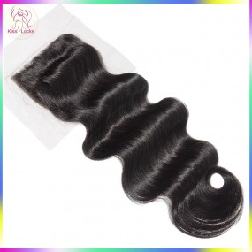 "Body Wave Lace Closure 5""x5"" Big Size strip around Premieter Virgin Hair Types Filipino,Cambodian,Laotian,Russian"