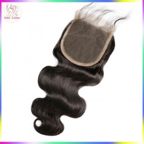 Great Quality Lace Closure 5 by 5 Body Wavy style Lower maintaince Eurasian,Burmese,Indian 10A