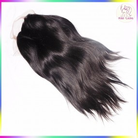Grade 10A Straight Filipino Raw Hair Lace Front Wig With Baby Hair Swiss Lace Medium Brown 1 unit Hot Seller