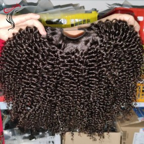 New Style U part wig machine made raw hair wigs Filipino raw hair kinky curly,straight,wavy(ship within 2 days) Different densities