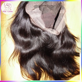 Premium Quality Full Lace Wig Cambodian Raw Straight Hair Type Silky Texture Glueless Natural Hair Line